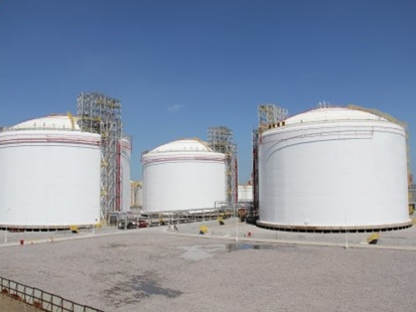 LPG cryogenic terminal (Tianjin, China) 2014