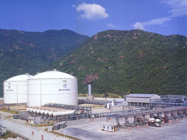 LPG cryogenic Terminal (Shenzhen, China) 1998