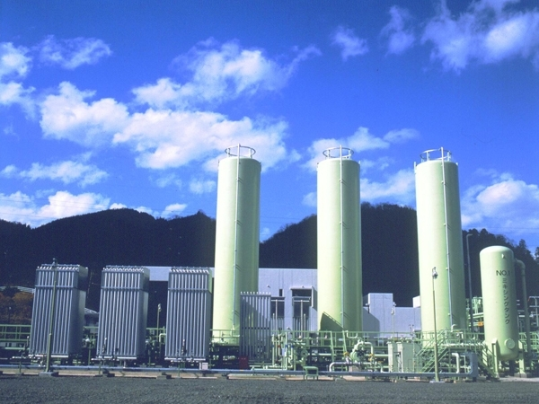 LNG satellite terminal (Kyoto, Japan) 2001